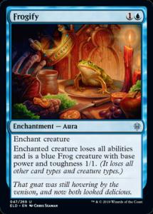 Carte Magic - Frogify