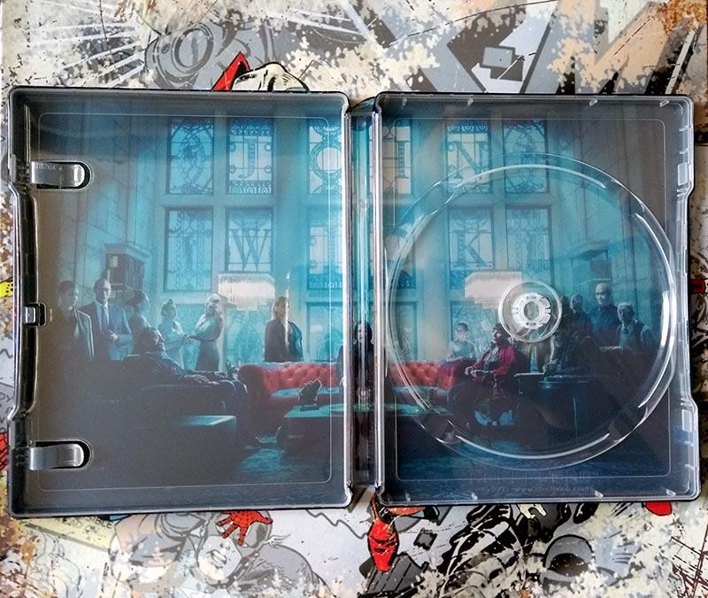 Visuel intérieur steelbook John Wick - Chapitre 3 - Parabellum