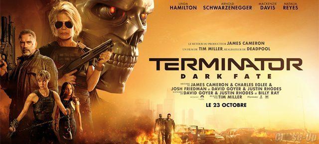 Bannière Terminator : Dark Fate