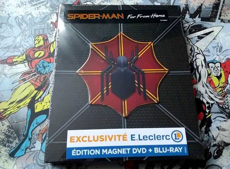 Spider-Man Far From Home - édition limitée spéciale E. Leclerc