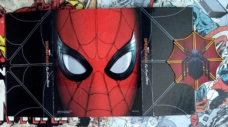 Visuels recto verso - Spider-Man Far From Home - édition limitée spéciale E. Leclerc