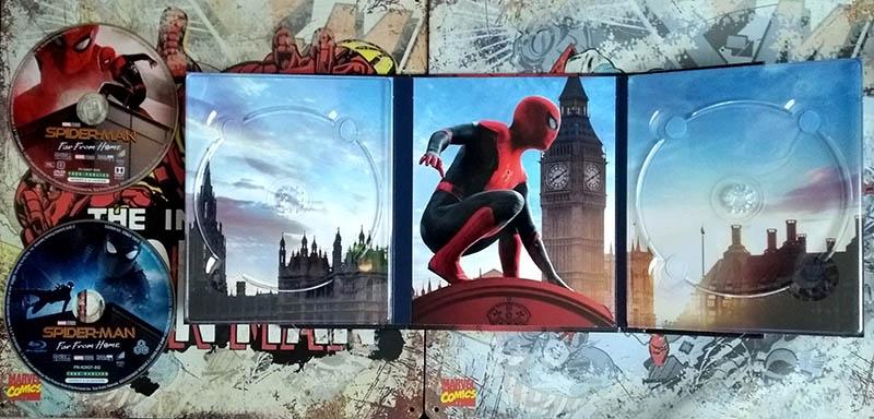 Visuel interne - Spider-Man FFH - édition limitée spéciale E. Leclerc