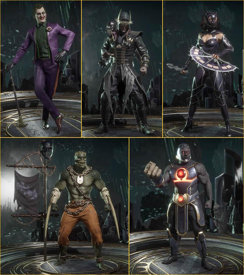 MK 11 - Le Joker et les costumes alternatifs DC comics