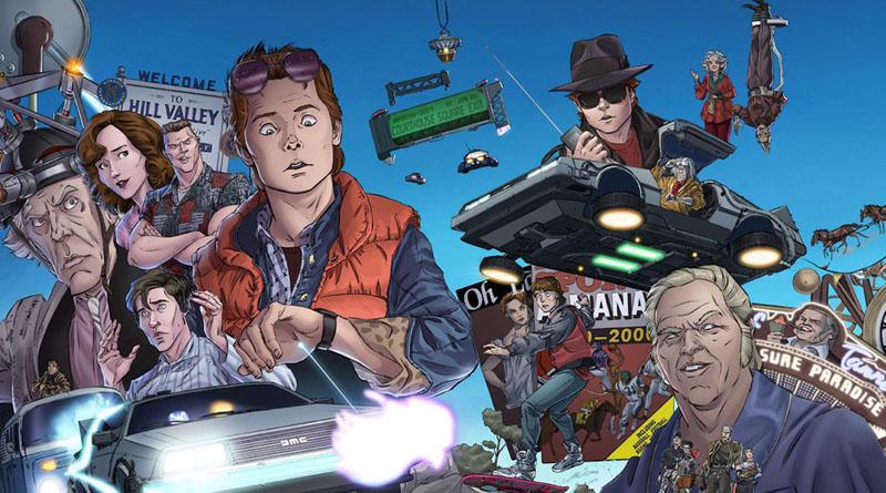 Retour vers le futur, les comics - Editions Flamival