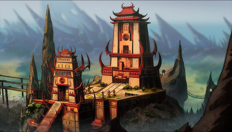 Temple Mortal Kombat