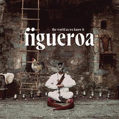 """Figueroa - visuel de l'album """"the world as we know it"""""""