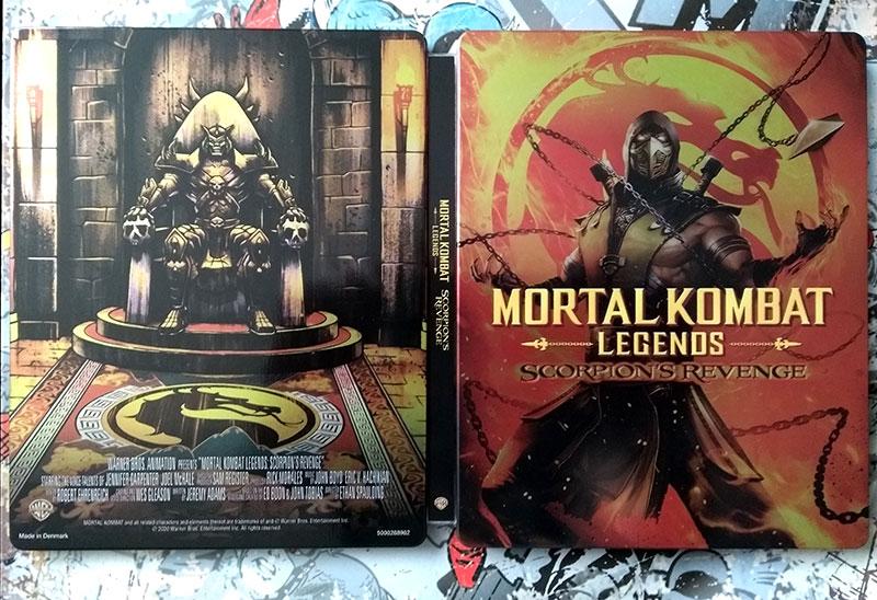 Visuel Steelbook - Mortal Kombat - Legends - Scorpion's Revenge