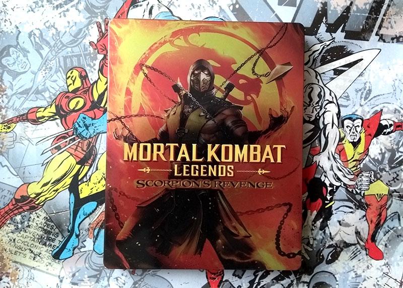 Visuel Steelbook recto - Mortal Kombat - Legends - Scorpion's Revenge