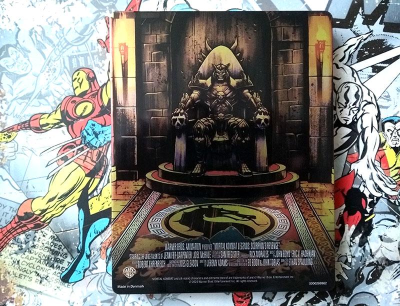 Visuel Steelbook verso - Mortal Kombat - Legends - Scorpion's Revenge