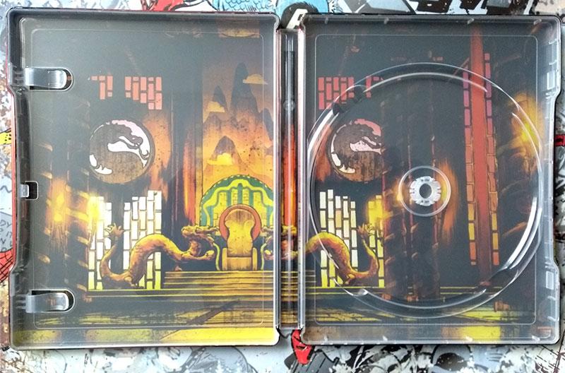 Visuel interne Steelbook - Mortal Kombat - Legends - Scorpion's Revenge