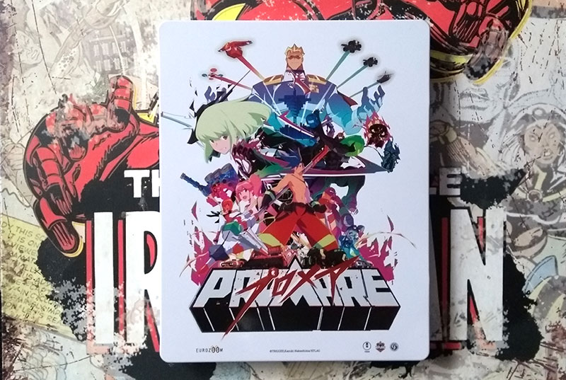 Steelbook Promare - visuel recto
