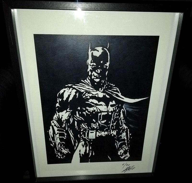 Batman par Alain Bordier