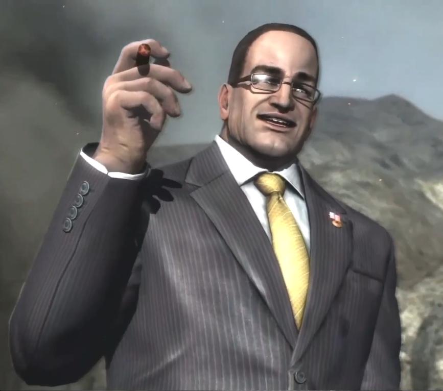 Sénateur Armstrong - Metal Gear Rising Revengeance