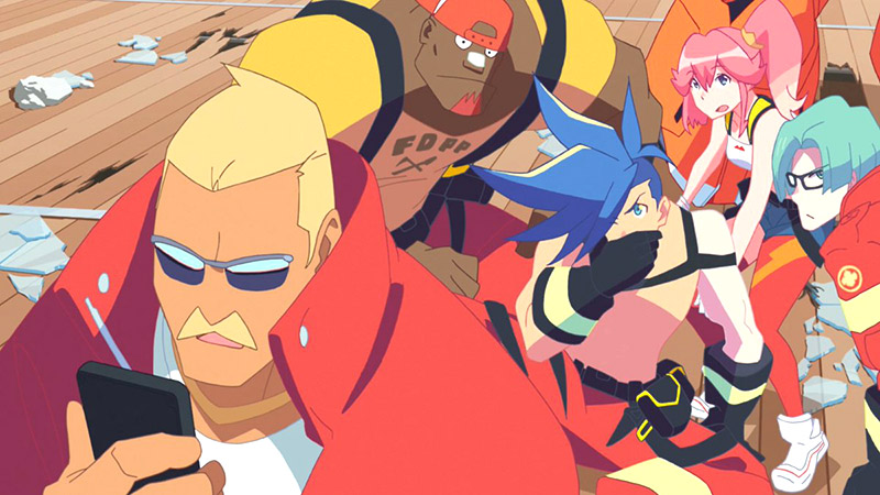 Promare - Membre de la Burning Rescue