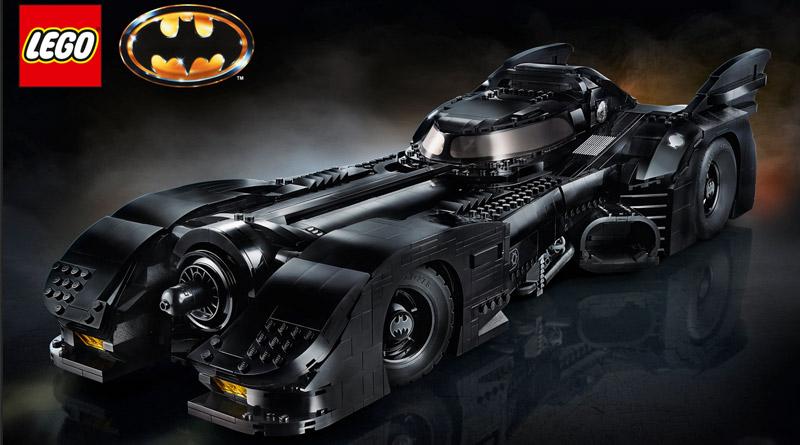Visuel de la boite LEGO 1989 Batmobile