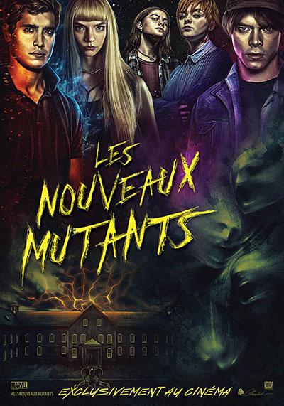 Les Nouveaux Mutants - affiche cinéma