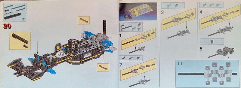 Instructions de montage Formule 1 - LEGO Technic 8880