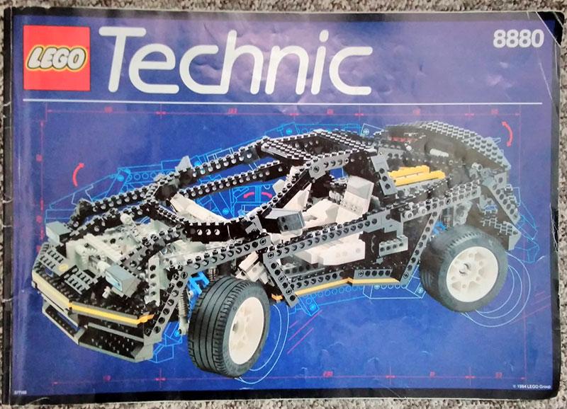 Livret Supercar - LEGO Technic 8880