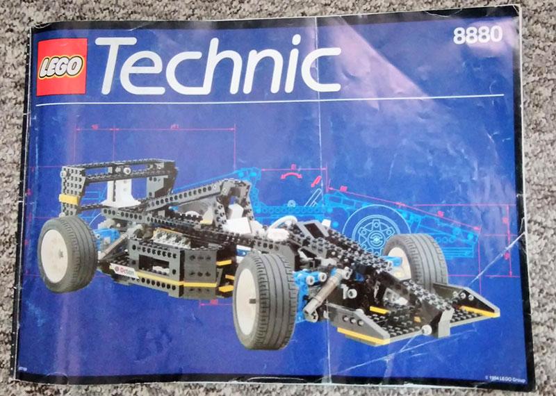 Livret Formule 1 - LEGO Technic 8880