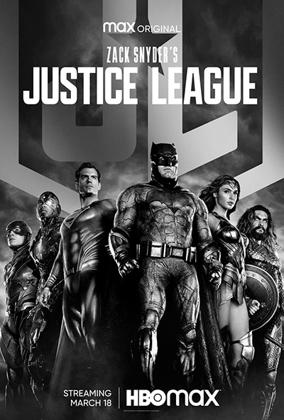 Zack Synder's Justice League - Affiche