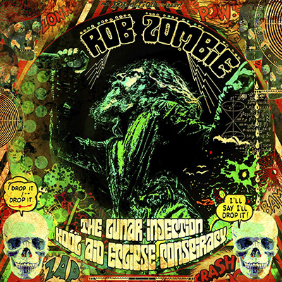 visuel de l'album The Lunar Injection Kool Aid Eclipse Conspiracy - Rob Zombie