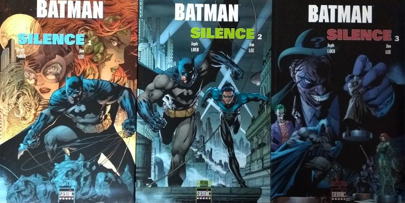 Batman : Silence - aux éditions Semic