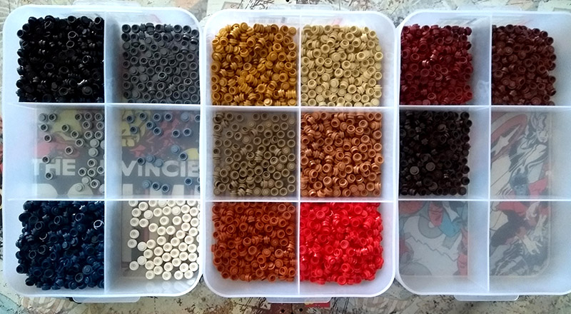 Boites de tri pièces set LEGO Art 31199