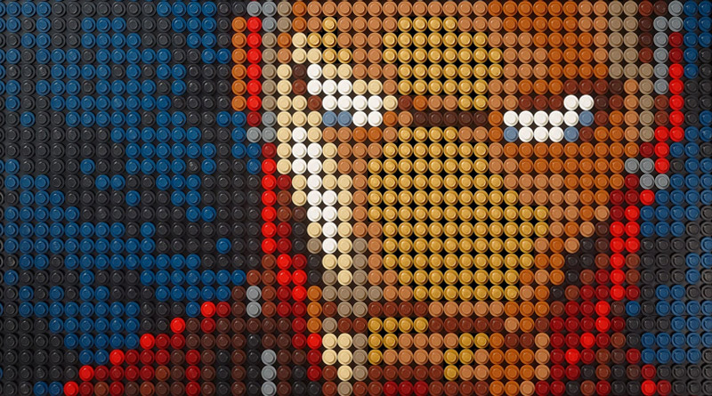 Lego Art Iron Man de Marvel Studios