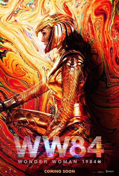 Wonder Woman 84 - affiche
