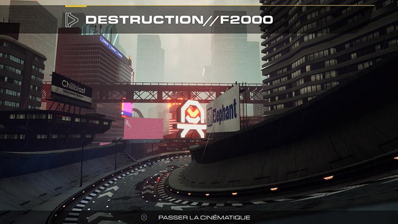 Pacer - écran de chargement épreuve de destruction