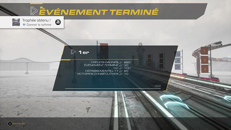 Trophées Platine Pacer PS4